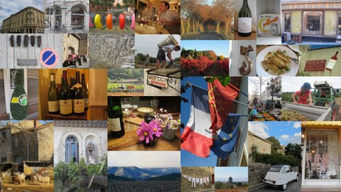 first blog collage - the wonders of La France