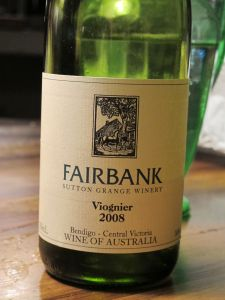 Sutton Grange Winery 'Fairbank' Viognier 2008