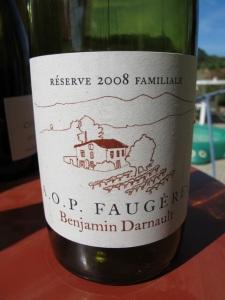 Benjamin Darnault AOP Faugeres 2008