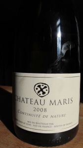 Chateau Maris 'Continuite de Nature' 2008