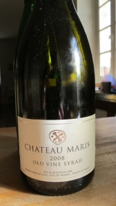 Chateau Maris 'Old Vine Syrah' 2008