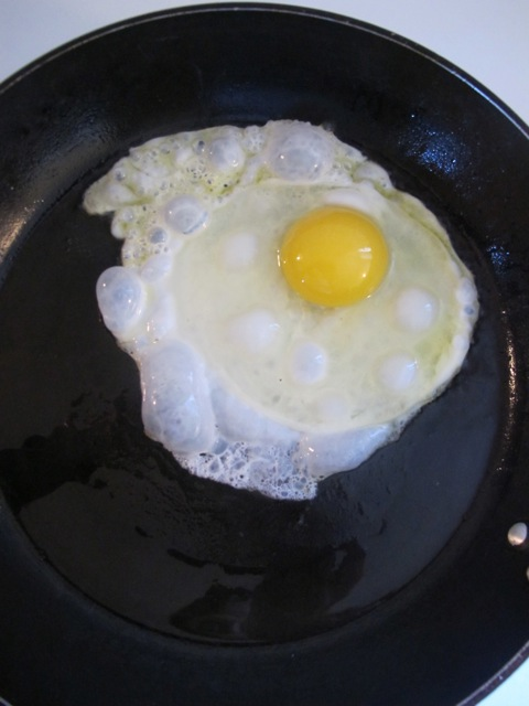big fried egg!