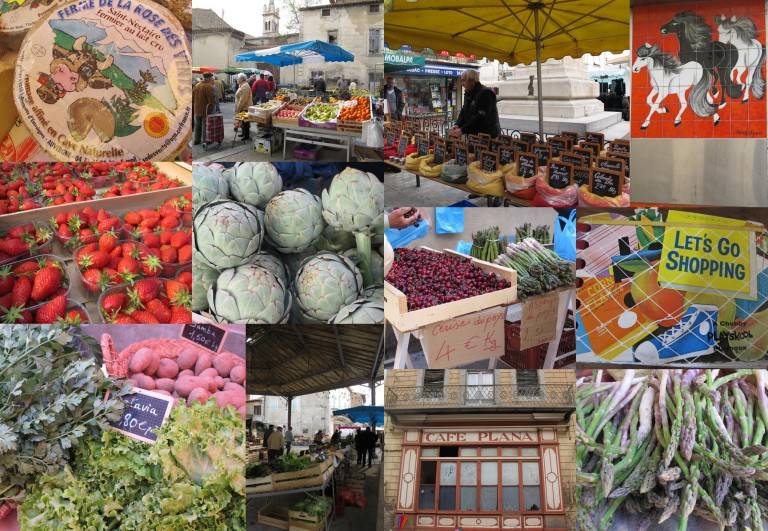 glorious produce on offer at the market
