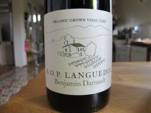 Benjamin Darnault AOP Languedoc 2010
