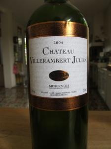 Chateau Villerambert Julien 2004 Minervois
