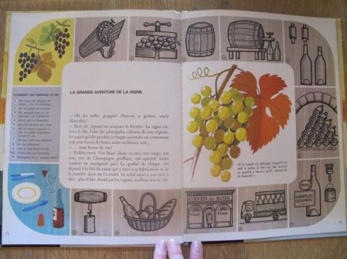 from Alain Gree's  'La Ferme'; Editions Casterman, 1965 - 'la grande aventure de la vigne' alain gree