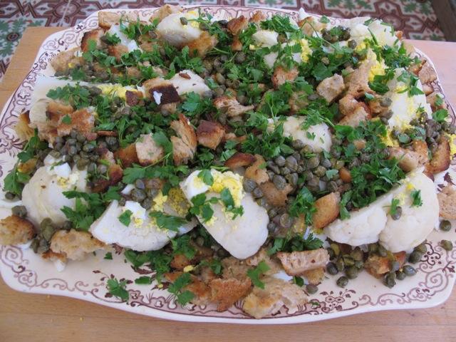 Cauliflower Polonaise
