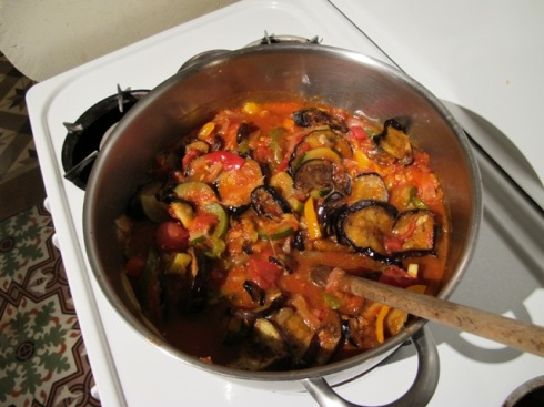 almost there with the ratatouille