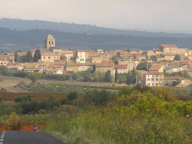 driving into La Liviniere