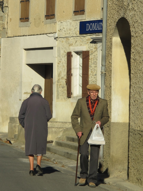morning shopping in the village