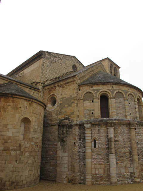 the abbey in Caunes
