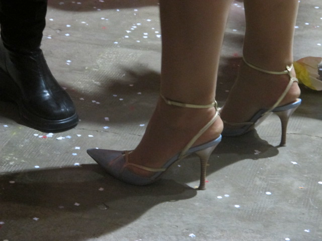 check out those heels!