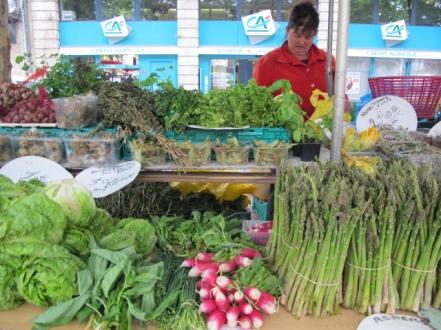 asparagus carcassonne market