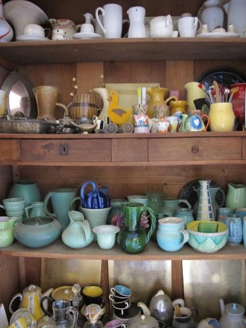Pam's treasure cupboard