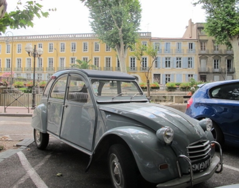 2CV in Narbonne