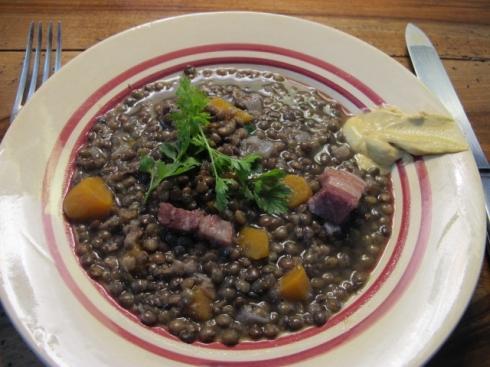 a simple lentil dish
