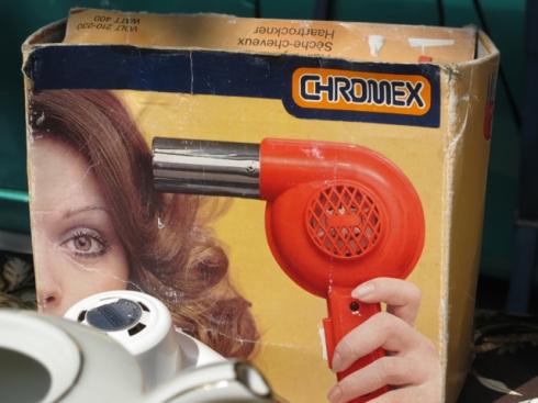 Chromex hair dryer