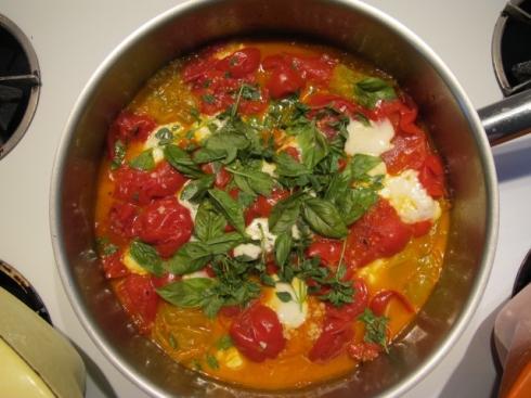 last night's tomatoes