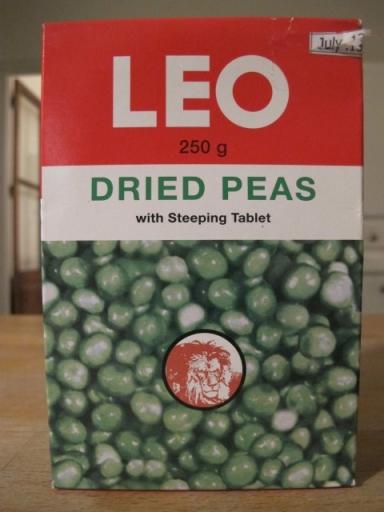 LEO dried peas
