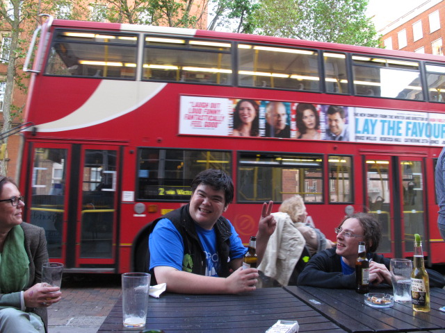 Ryan does London