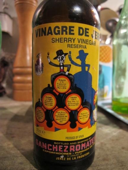 Sanchez Romate sherry vinegar