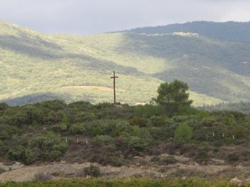 cross in Calamiac