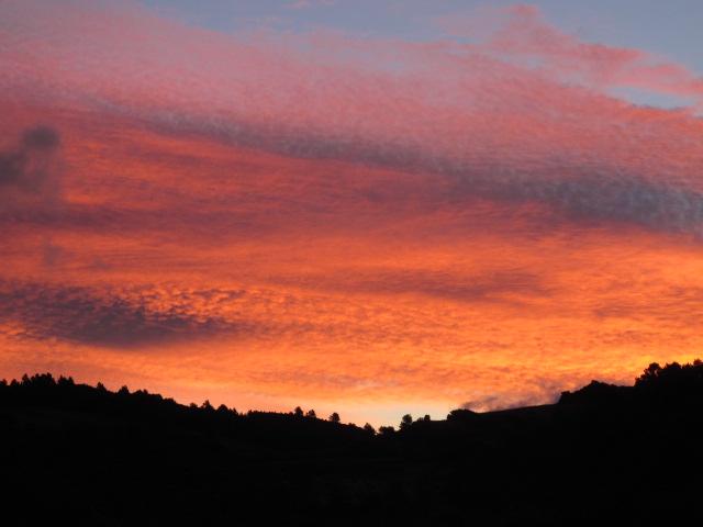 sunrise in the hamlet