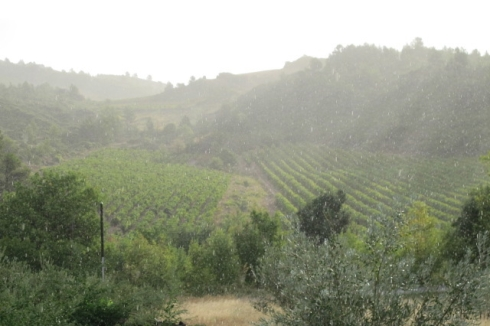 morning rain in Calamiac
