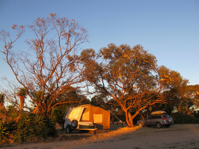 accommodation on a friend's farm, New Year's Eve