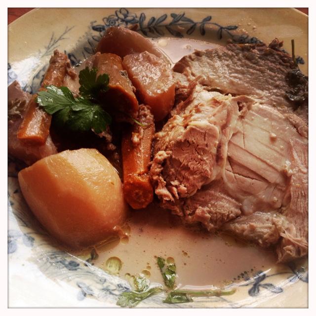 delicious 'Porc au Lait'