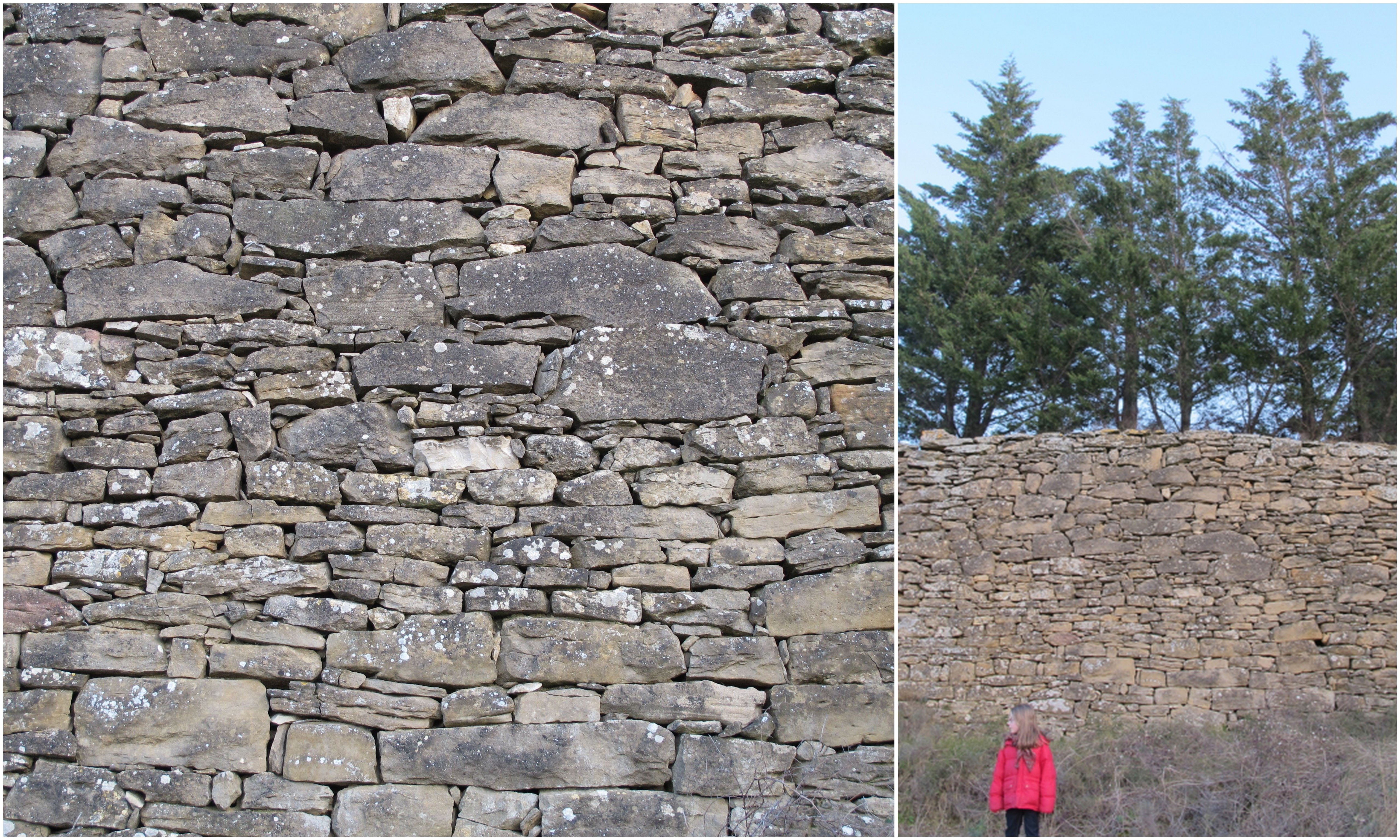 ...and a favourite close to home, this wall in our hamlet