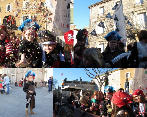 our local school celebrates 'Carnaval' each year, where everybody accompanies the school kids on floats in a tour of the village