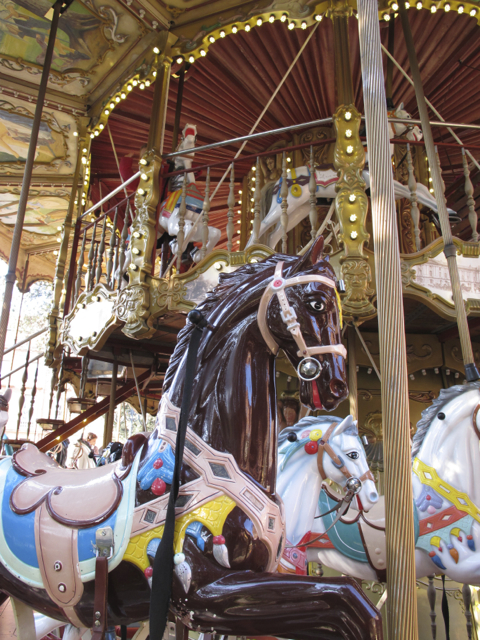 the old 'manege' (carousel), downtown Toulouse