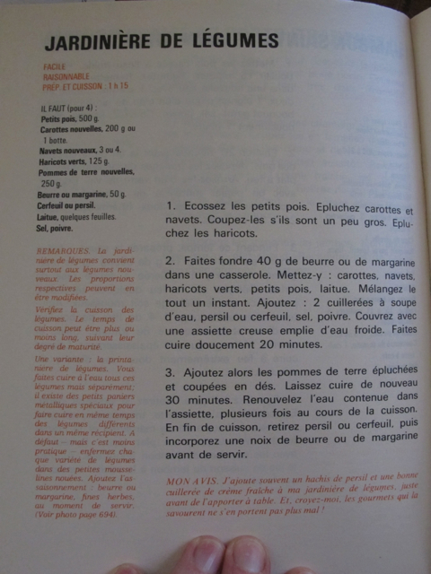 Francoise Bernard's version
