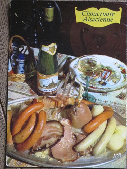 ...love an old recipe postcard