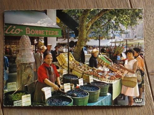 Goutez nos olives